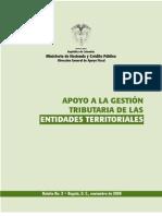 Apoyo Gestion Tributaria Entidades Territoriales+97420 BOLETIN No 2