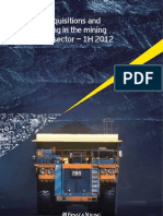 1H2012 M&a Capital Raising in Mining and Metals