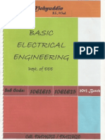 V.T.U. Basic Electricals Engineering Chapter4(Sulthan Mohyuddin)