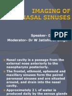 Imaging of Paranasal Sinuses Kn