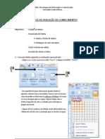 Exercício de aplicação de conhecimentos - Ficha nº 3