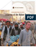 ASIA Foundation - A Survey of Afghan People 2011