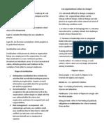 Organizational Culture Overview