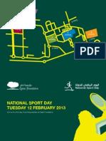 Qatar Foundation National Sport Day Flyer Eng