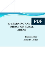 e-learning in rural areas