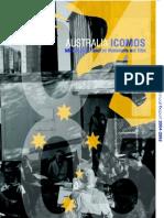ICOMOS Australia Godisnji izvjestaj 2005