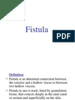 Fistula in Ano