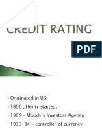 Credit Rating and Securitisation