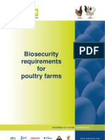 Biosecurity Requirements for Poultry Farms