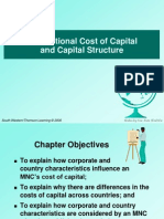 25295740 Chapter 17 Multinational Cost of Capital and Capital Structure