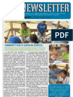 CFK Activity Report Newsletter Jul-Sep 2011