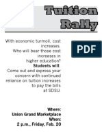 Tuition Rally 1