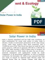 73(B) Solar Power in India