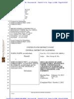 Declarations in Naffe v. Frey et al