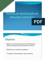 Sistema de desinfecção