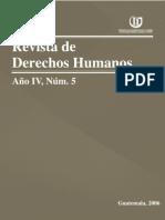 ASIES Revista de Derechos Humanos V, 2006