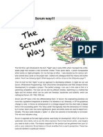 Get Agile - The Scrum Way!!!
