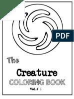 Spore Coloring Book Creatures