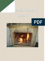 Chimenea de Obra Casera