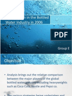 Competition in Bottled Water Industry