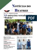 Jornal Notícias do Beatriz . Ano 2 . No. 2 . Dezembro 2012