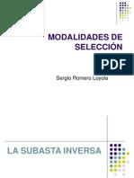 MODALIDADES DE SELECCIÓN y RECURSO DE APELACION - VII SESION SABADOS