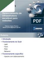 Gerenciamento de infraestrutura escálavel para websites