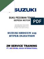 Suzuki Shogun 125 Hyper Injection