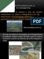 Principios Basicos de La Fotogrametria