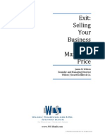 Exit-Selling Biz for Max Price_WSCo