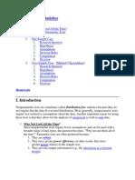 Nonparametric Statistics.docx