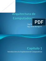 Cap_1 Arquitectura de Comp_Introduccion