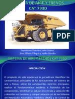 Exposicion Sistema de Aire y Frenos Cat 793d