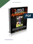 3 Minute Bodyweight Finishers