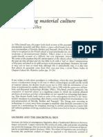 Interpreting Material Culture Tilley