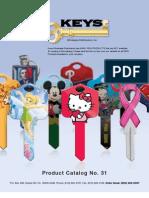 Keys Wholesale Catalog No. 31