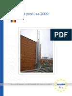 Gama de Produse 2009