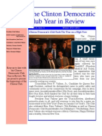 The Clinton Democratic Club 2012 Year in Review