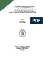Setiawan,Agus.2008.Efektivitas Pemberian Ekstrak Temulawak(Curcuma Xanthorizza Roxb) Dan Temuireng(Curcuma Aeruginosa Roxb)Sebagai Kontrol Helminthiasisterhadap Packed Cell Volume(PCV),Sweating Rate Dan Pertambahan Bob