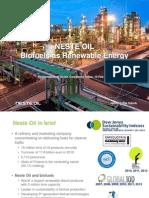 Neste Oil Renewable Biofuels