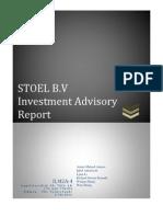 Final Advisory Report