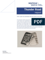 Thunder Road Report -February 2013