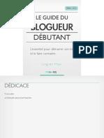Le Guide du Blogueur Débutant v.1