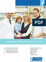 NI-Uk Pharmacy Brochure 2012-13