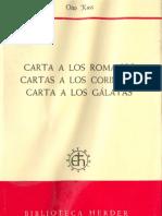 Kuss Otto Cartas Romanos Corintios Galatas