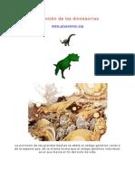 Olguin_Extincion de Los Dinosaurios