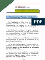 Tema 7 - Clasificacion Hidraulica