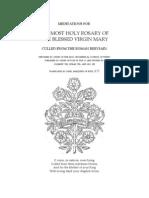 Rosary Meditations From Breviary