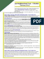 Lockleaze Neighbourhood Trust e-bulletin Feb 2012