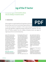 The Greening of the IT Sector